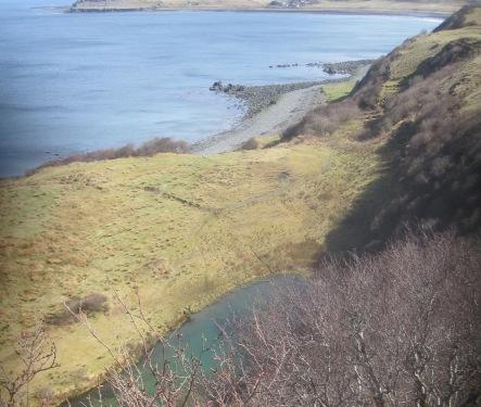 Loch Shianta & Staffin Bay