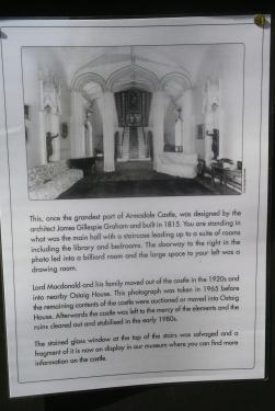 Armadale Castle, as it was