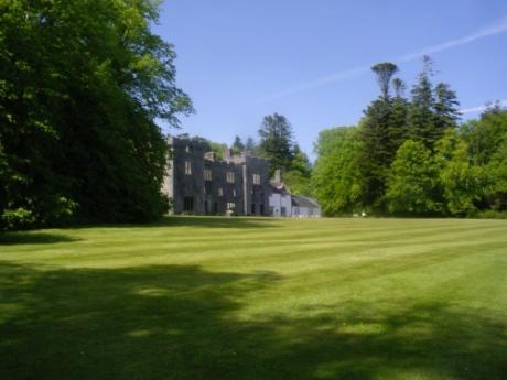 Armadale Castle, frontage