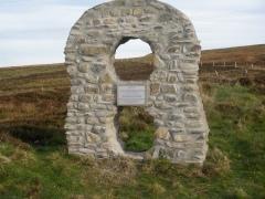Deanston memorial, Isle of Lewis