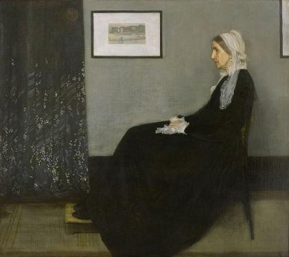 Arrangement in Grey And Black No.1
